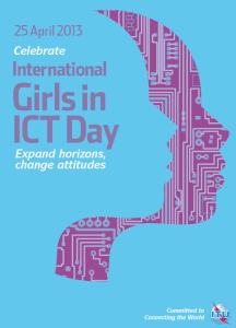 Girls in ICT 2013