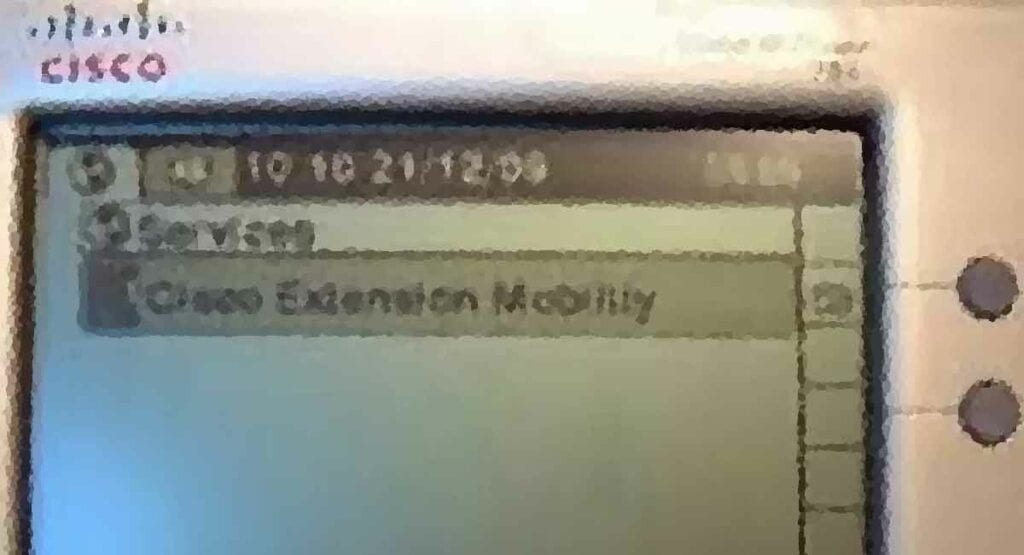 Cisco Extension Mobility