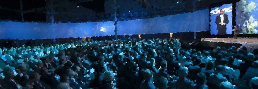 Cisco Partner Summit 2014 Глобальная Генеральная сессия Демо TelePresence SX10