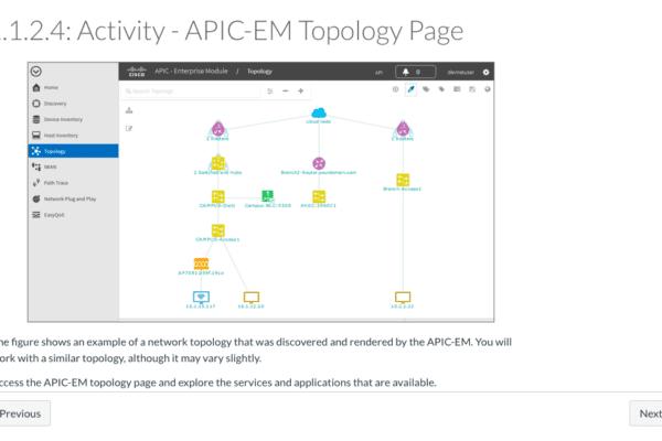 Программируемые сети с Cisco APIC-EM