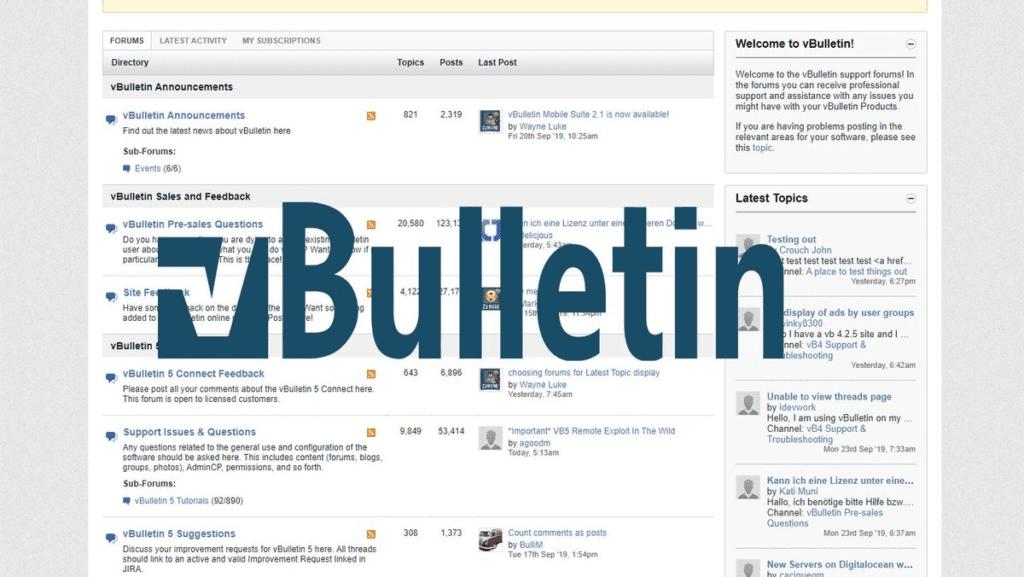 От уязвимости в vBulletin уже пострадали 245 тысяч пользователей, специалист по информационной безопасности где учиться Казань