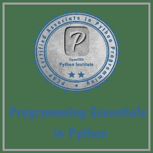 Programming Essentials in Python